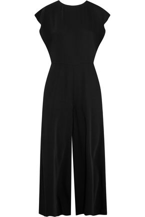 MM6 MAISON MARGIELA Crepe de chine wide-leg jumpsuit