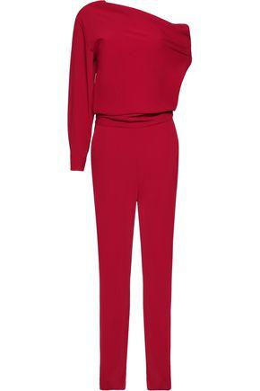 MM6 MAISON MARGIELA One-shoulder twill jumpsuit