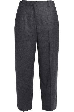 AGNONA Wool-blend wide-leg pants
