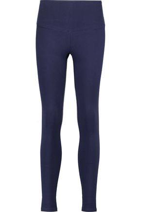 YUMMIE by HEATHER THOMSON Milan stretch cotton-blend leggings