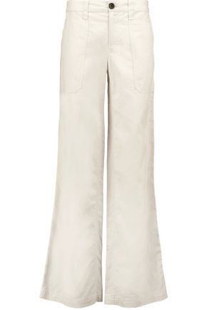 ROBERT RODRIGUEZ Cotton-blend wide-leg pants