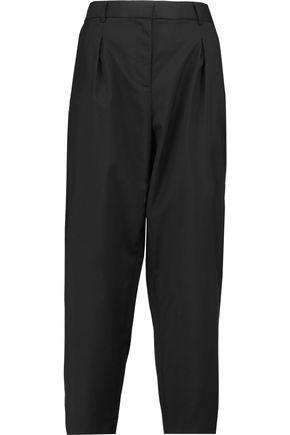 ROBERT RODRIGUEZ Cropped wool straight-leg pants