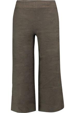 ROBERT RODRIGUEZ Linen-blend culottes