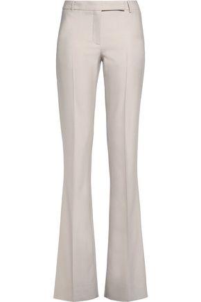 BELSTAFF Derby wool-blend twill bootcut pants