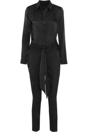 RTA Florence silk jumpsuit
