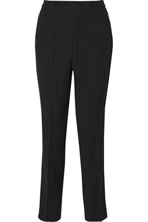 IRO Pleated wool-blend tapered pants