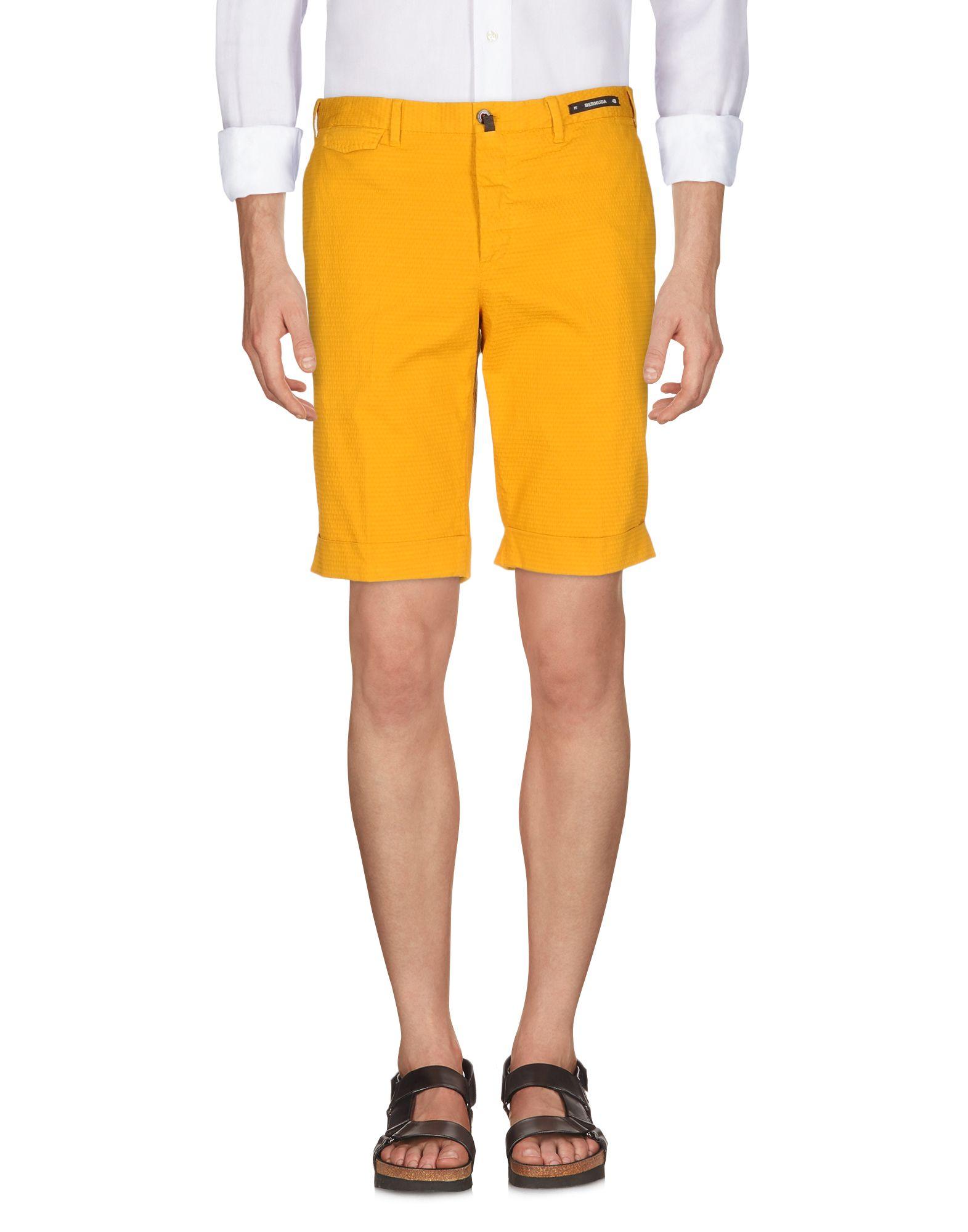 PT BERMUDA Бермуды multi pockets zip fly bermuda shorts