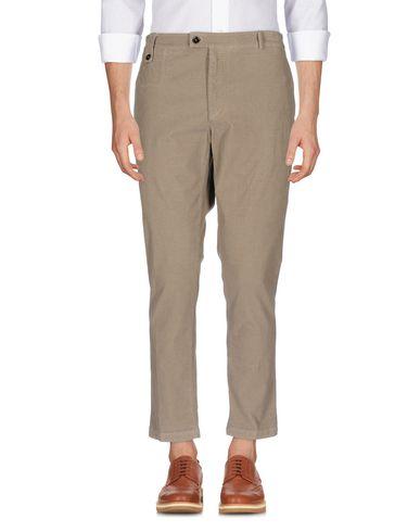 Купить Повседневные брюки от PAOLO PECORA цвета хаки