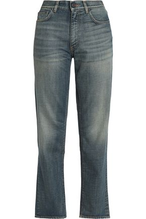 ACNE STUDIOS Faded high-rise boyfriend jeans