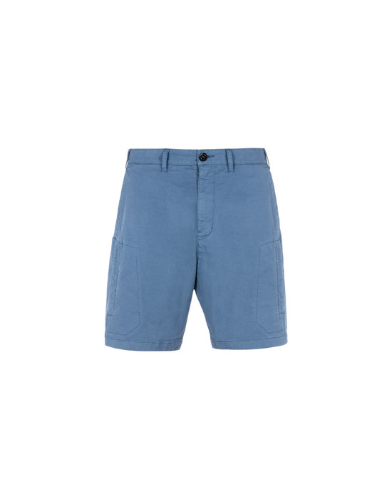 Bermuda L0108 CARGO SHORTS (STRETCH COTTON GABARDINE) STONE ISLAND SHADOW PROJECT - 0