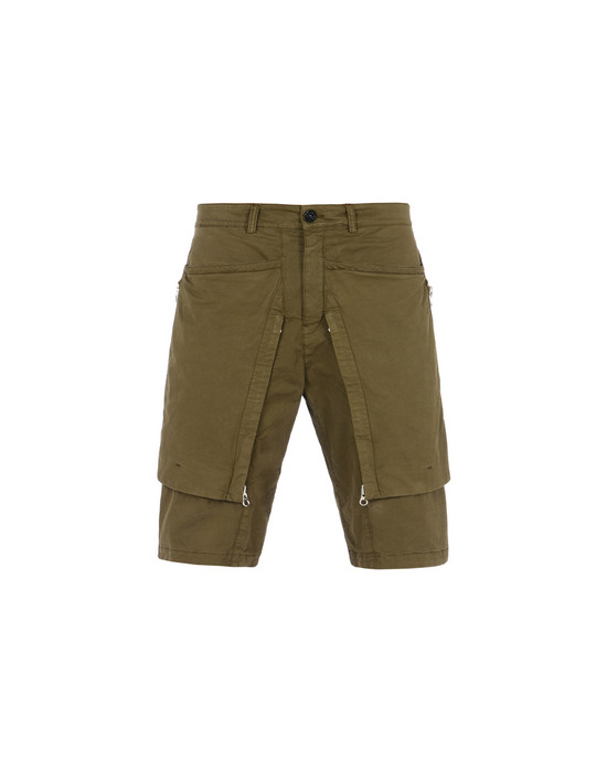 Bermuda L0208 CONVERT SHORTS (STRETCH COTTON GABARDINE) STONE ISLAND SHADOW PROJECT - 0