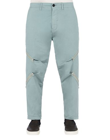 30108 RESHAPE PANTS CON ADJUSTMENT ZIPPERS (STRETCH COTTON GABARDINE)