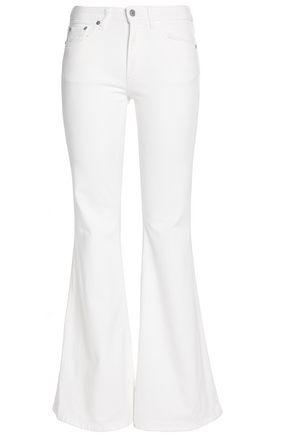 ACNE STUDIOS Low-rise flared jeans