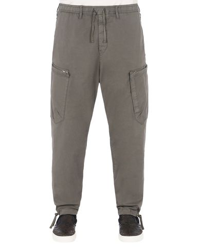 30208 CARGO PANTS WITH ADJUSTMENT ZIPPERS (STRETCH COTTON GABARDINE)