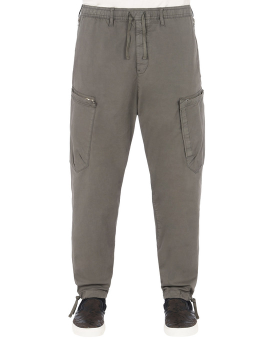 STONE ISLAND SHADOW PROJECT TROUSERS 30208 CARGO PANTS WITH ADJUSTMENT ZIPPERS (STRETCH COTTON GABARDINE)