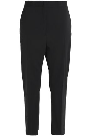 JIL SANDER Cropped wool-blend tapered pants