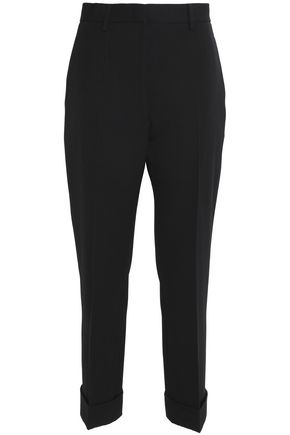 JIL SANDER Cropped wool tapered pants