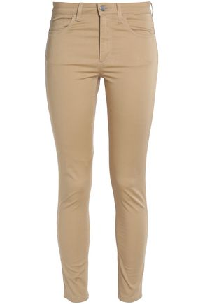 ACNE STUDIOS Cotton-blend skinny pants