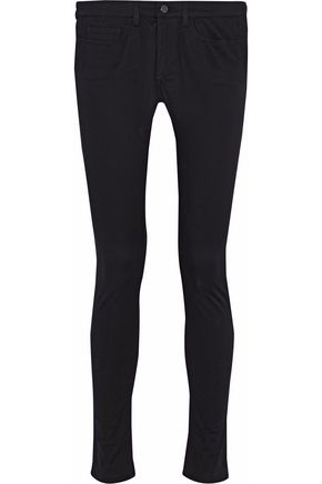 ACNE STUDIOS Cotton-blend mid-rise skinny jeans