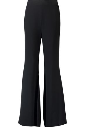 CINQ À SEPT Crepe wide-leg pants