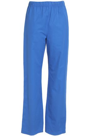 MSGM Cotton straight-leg pants
