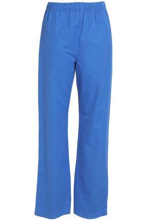 MSGM Cotton straight-leg pants