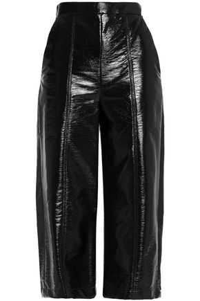 MSGM Faux leather culottes