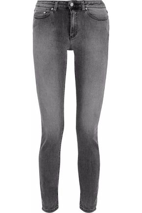 ACNE STUDIOS Low-rise faded skinny jeans