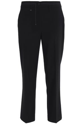 HELMUT LANG Wool-blend twill bootcut pants