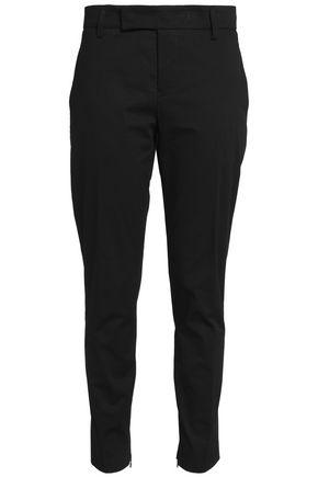 JIL SANDER Cotton-blend twill tapered pants