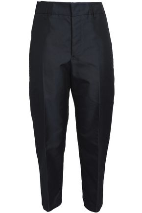 JIL SANDER Cotton-blend canvas tapered pants
