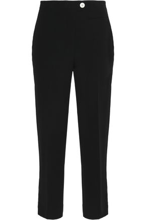 HELMUT LANG Cropped cady tapered pants