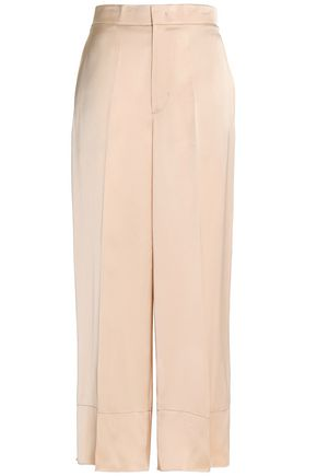 HELMUT LANG Satin wide-leg pants