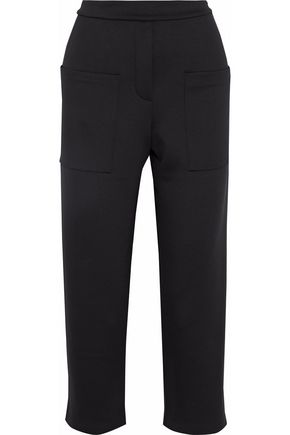 BY MALENE BIRGER Cropped scuba straight-leg pants