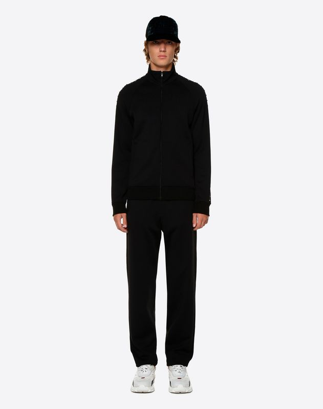 ROCKSTUD UNTITLED JERSEY TROUSERS