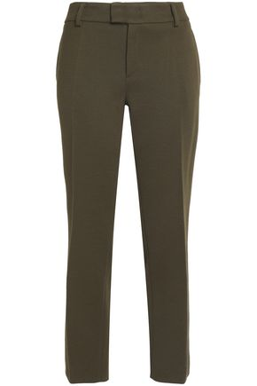 M MISSONI Wool-blend crepe tapered pants