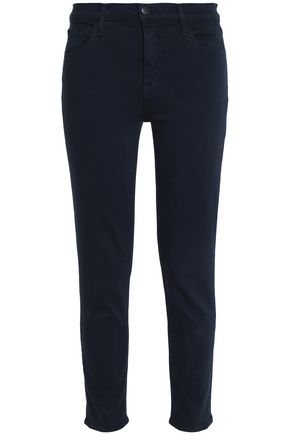 J BRAND Cropped low-rise slim-leg jeans