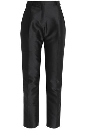 CARVEN Satin-twill tapered pants