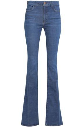 M.I.H JEANS Mid-rise flared jeans