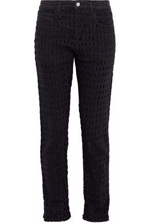 ISABEL MARANT High-rise cutout slim-leg jeans