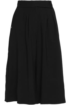 MAISON KITSUNÉ Wool-blend culottes