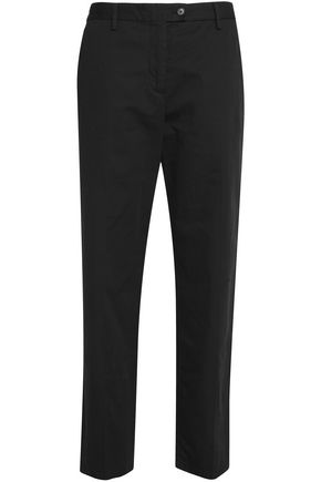 MAISON MARGIELA Cotton and linen-blend tapered pants
