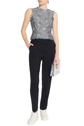 MAISON MARGIELA Wool-blend twill tapered pants
