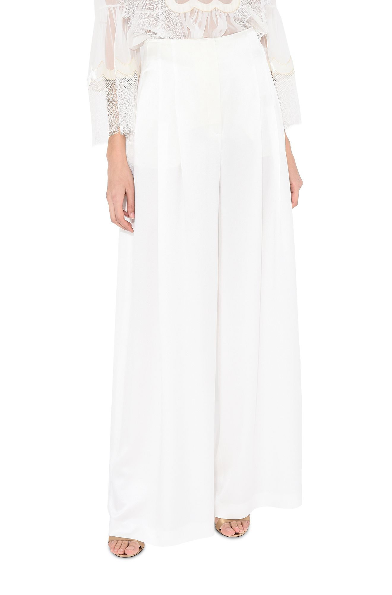 ALBERTA FERRETTI GONNA LUNGA IN LAMÈ Woman Long skirt in lamé r