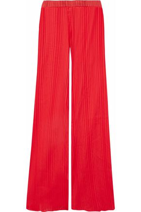 PIERRE BALMAIN Cotton-jacquard wide-leg pants