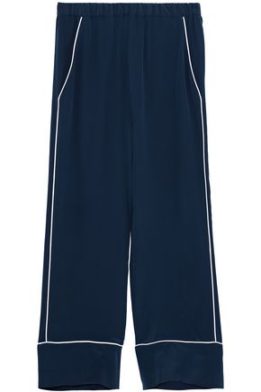IRIS AND INK Rumi silk pajama pants