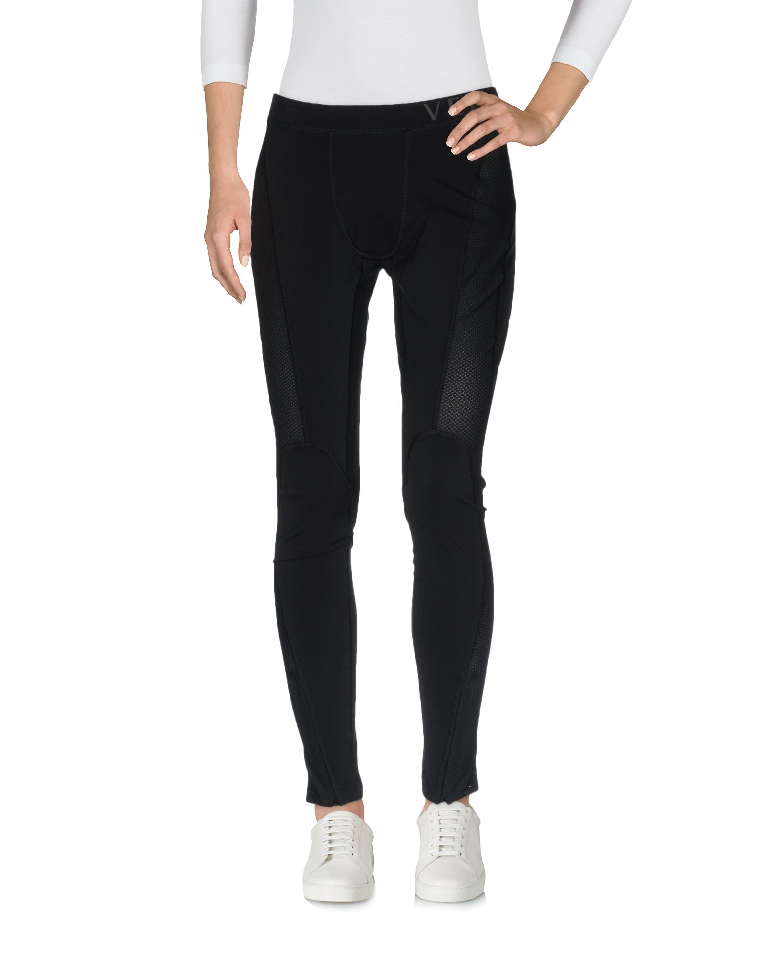 LOGO STRETCH NYLON JERSEY LEGGINGS