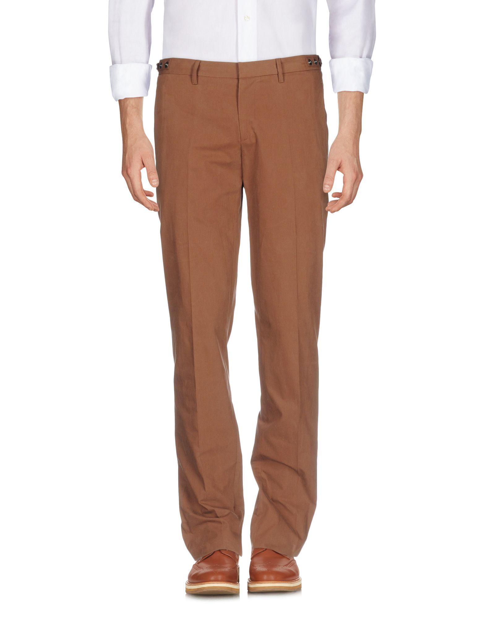 《送料無料》BELSTAFF メンズ パンツ ブラウン 52 コットン 100%