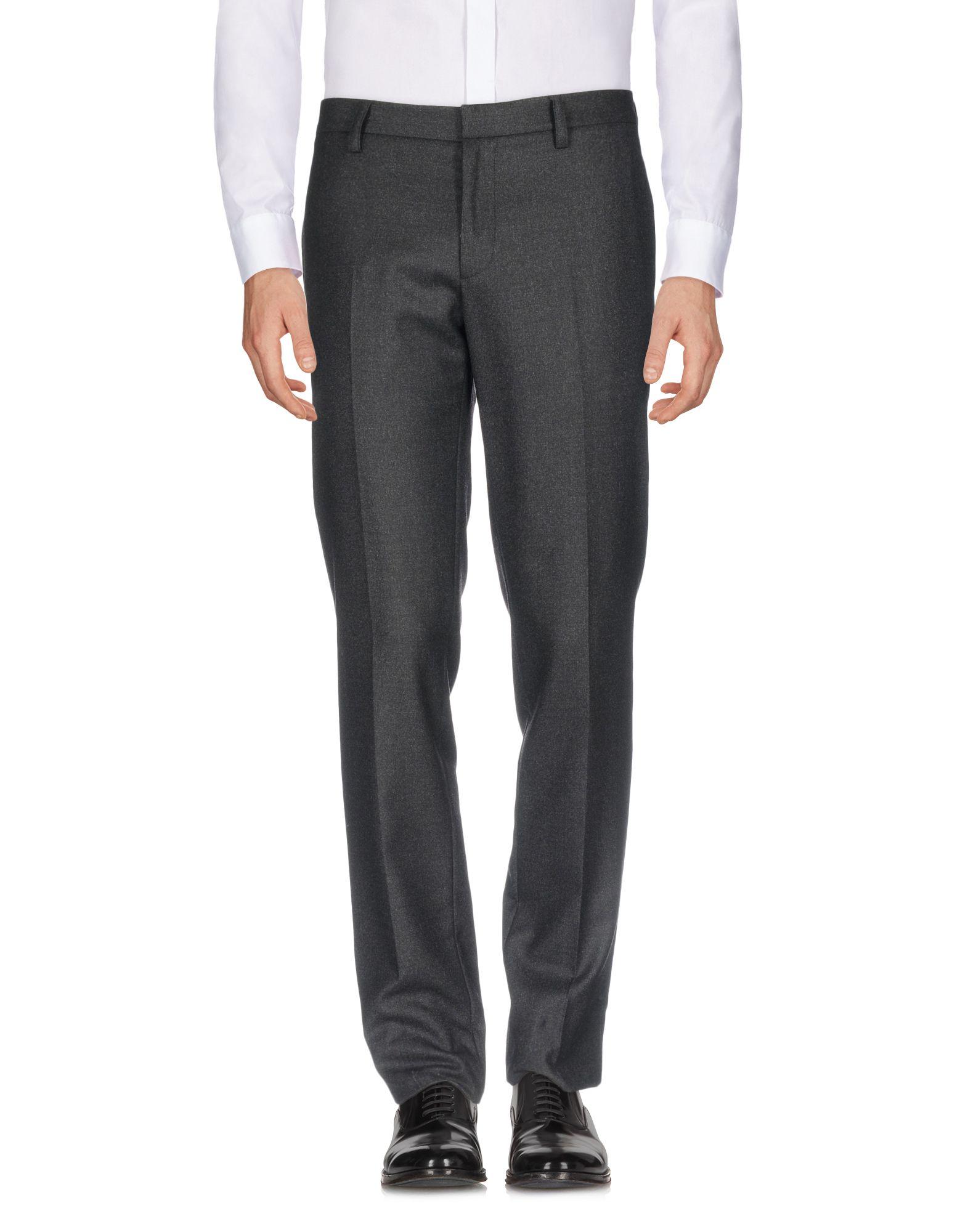 《送料無料》BELSTAFF メンズ パンツ スチールグレー 56 バージンウール 100%