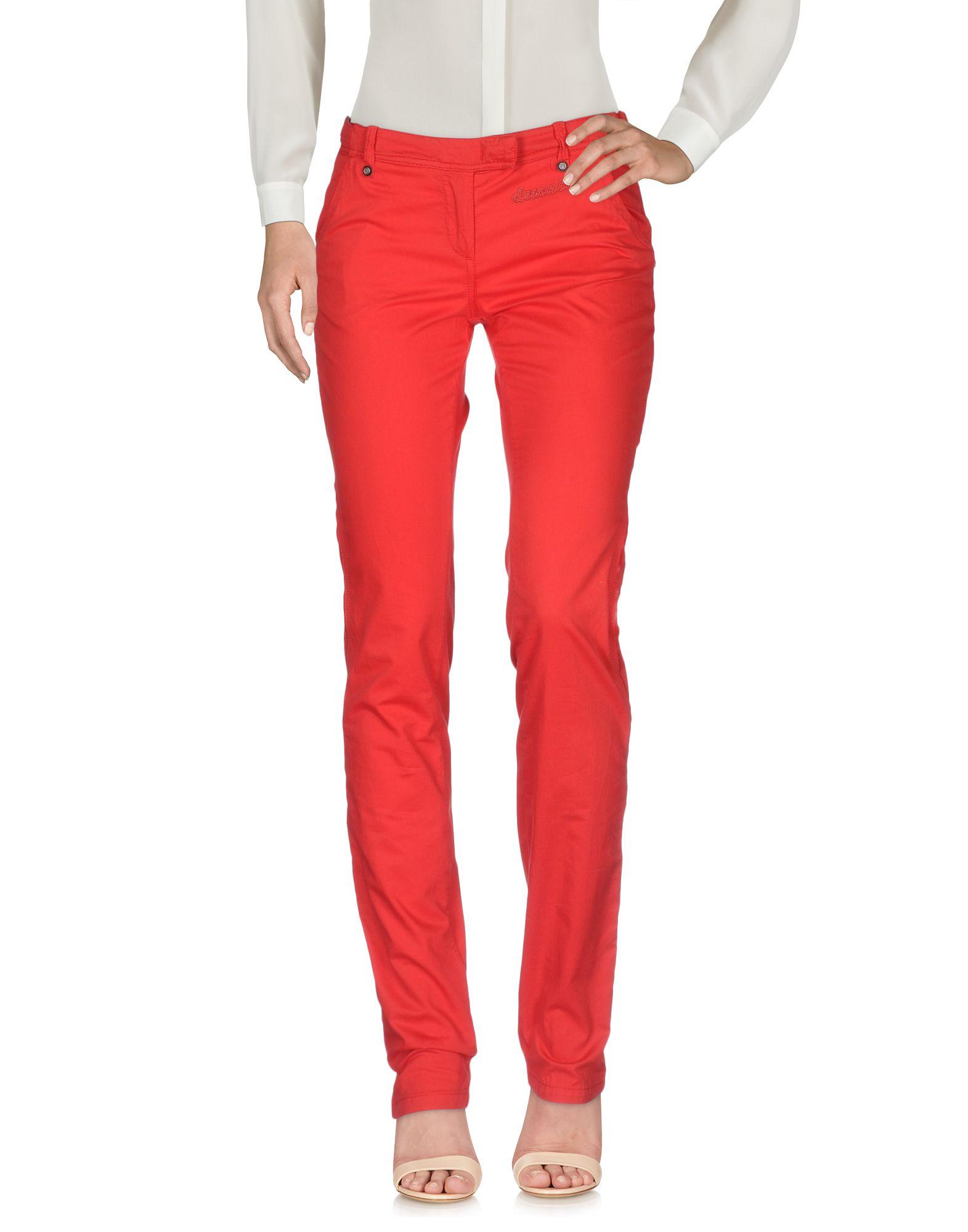 C'N'C COSTUME NATIONAL FOR DUCATI Повседневные брюки